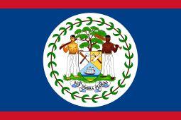 1981, Flag of Belize #BelizeFlag #Belize (L4157)