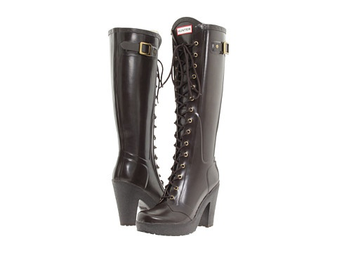 hunter lapins rain boots  boots womens high