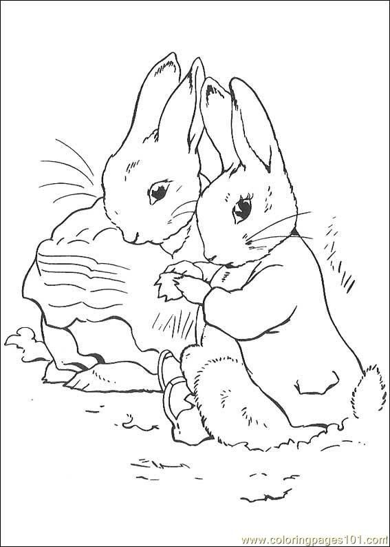 Rabbit Coloring Pages Free Printable