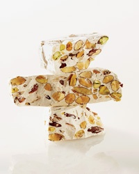 Almond-Pistachio Nougat- I want to make this for Christmas with pistachios and dried cranberries!