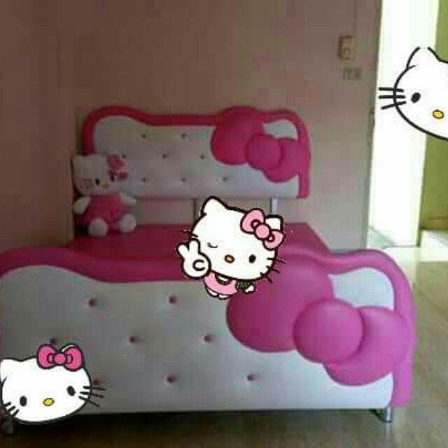 Letti Per Bambini Hello Kitty.Hello Kitty Head Board