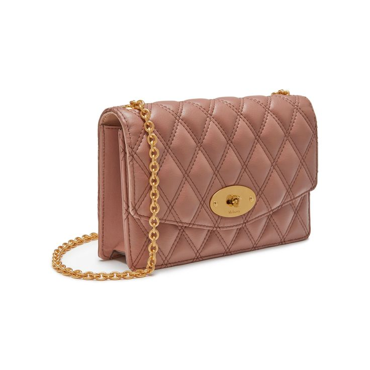 the sale of shoes low priced innovative design Small Darley   Dark Blush Quilted Smooth Calf   Women   Mulberry ...