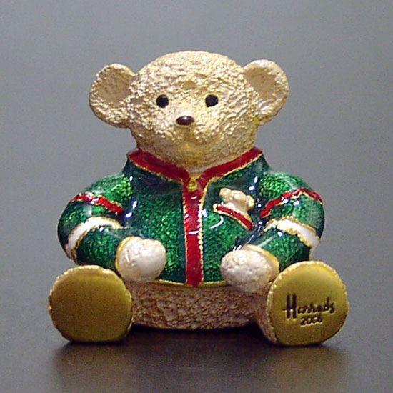 2006 Estee Lauder HARRODS TEDDY BEAR Solid Perfume