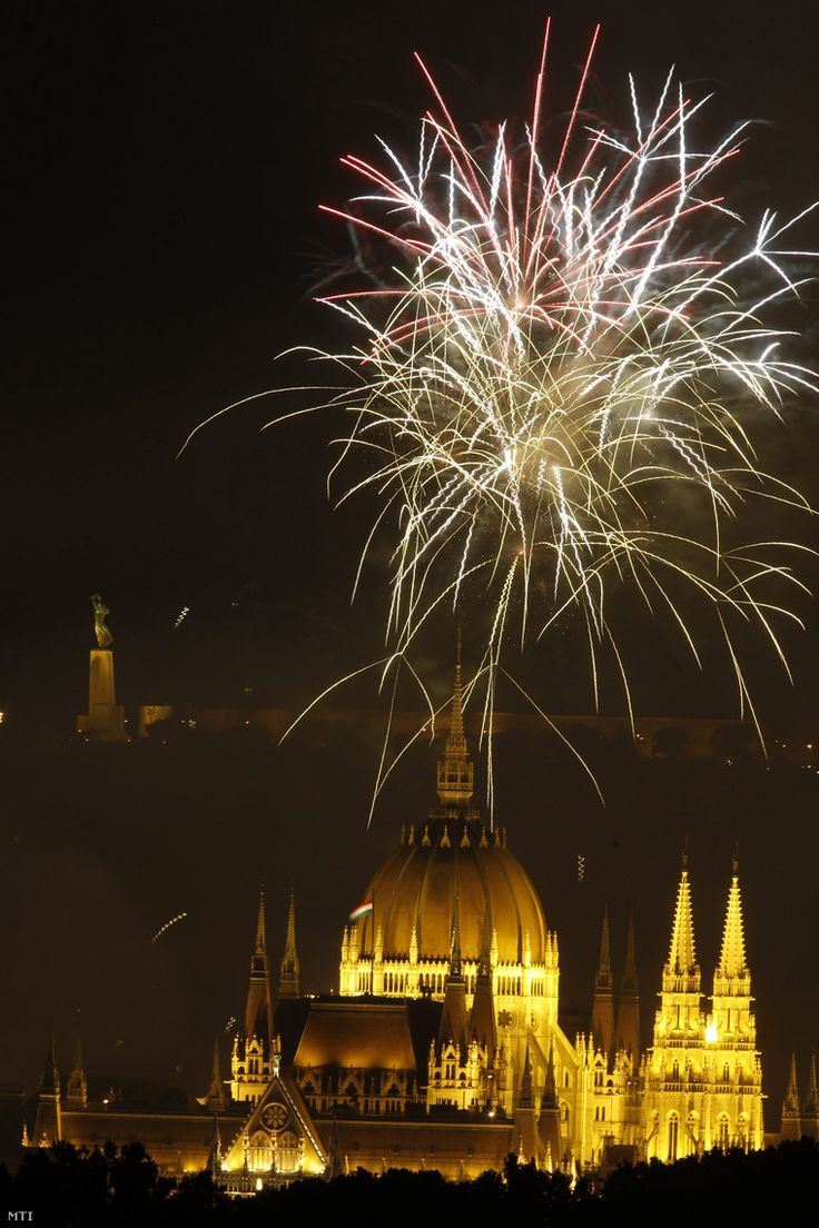 Budapest #fireworks