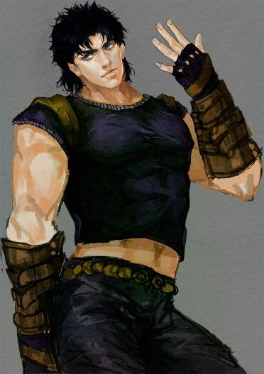 http://www.pixiv.net/member.php?id=3408154  Jonathan as my fav Jojo. Any other character who was talking about him make me shiver