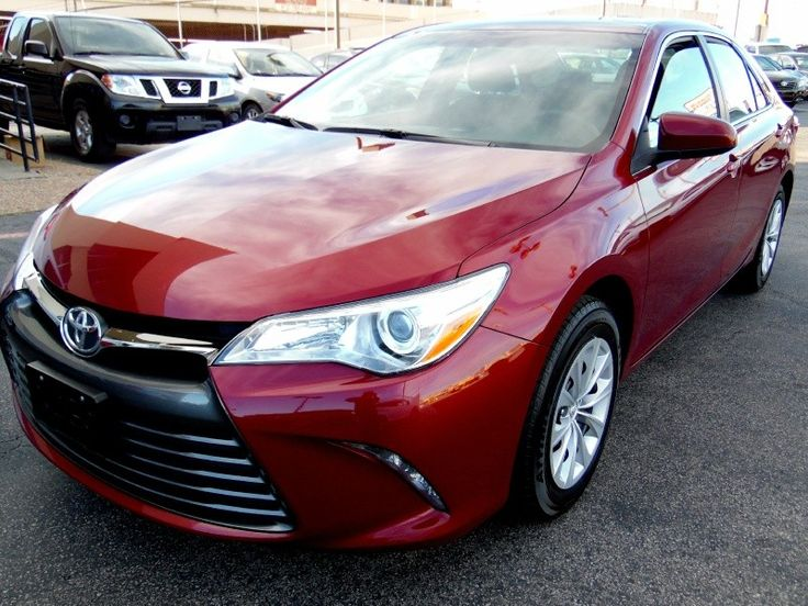 Ipex import, proudly offers this stunning 2015 TOYOTA CAMRY SE in MAROON Exterior and Gray cloth interior with only 32117 miles. The TOYOTA CAMRY SE ...