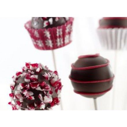 Cake Pops de chocolate y queso