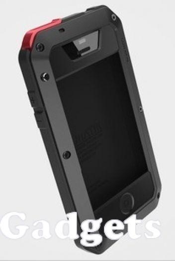 Lunatik Metal + Silicone Extreme Hard Case with Gorilla Glass for iPhone 5 - Black  -Shockproof -Gorilla Glass -Anti penyok, debu, dan pecah  Cara memesan via SMS/WhatsApp ke 08111279777