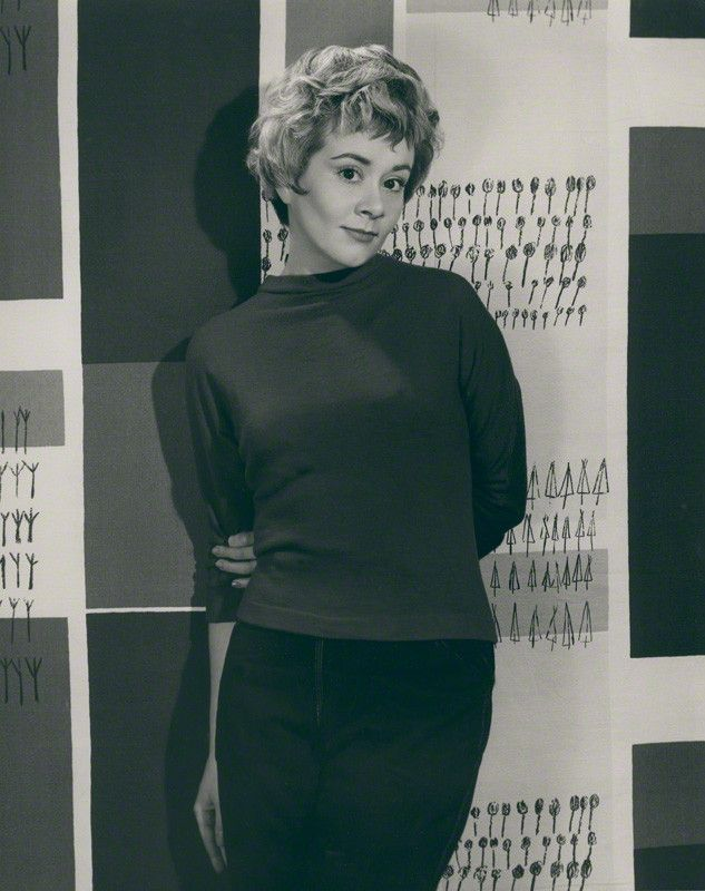 1958. Joan Plowright by Paul Tanqueray