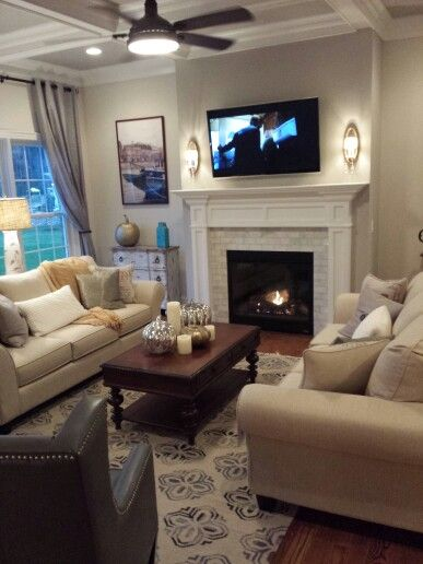 White Brick Fireplace Decor J 39 Adore Pinterest