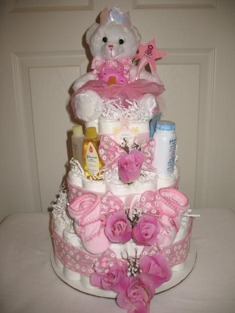 207 Best Towel Cakes Images On Pinterest Baby Showers