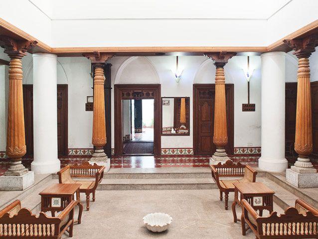 La Maison Tamoule located in Puducherry's Tamil Quarter #hotel #travel