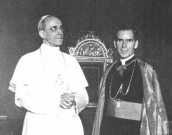 Two real Saints of the Holy Catholic Church : Pope Pius XII and Venerable Archbishop Fulton