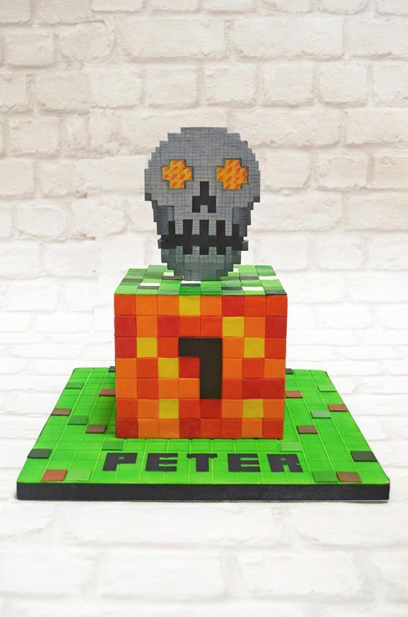 die besten 25 minecraft skull ideen auf pinterest minecraft pixel kunst sch del kreuzstich. Black Bedroom Furniture Sets. Home Design Ideas