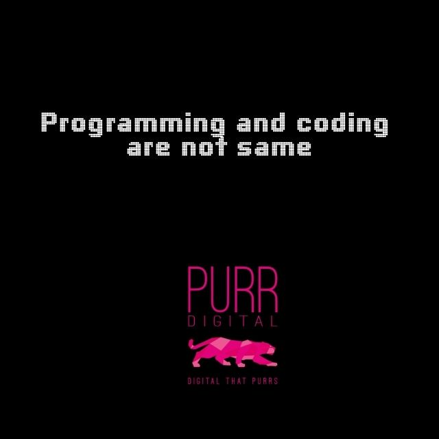 A coder is clearly instructed on what should be done and what needs to be accomplished. But as a programmer you must be able to imagine a broad set of solutions to a problem before you even start writing codes. A programmer is a coder but a coder may not be a programmer.