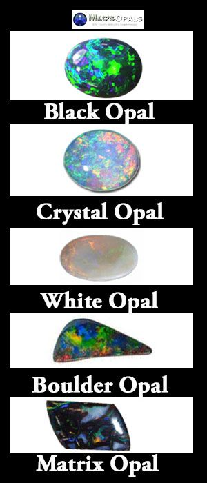 Did you know that 90% of the worlds Opal is found in Australia? You also might not realise that depending on which Opal mine you are at you will find very different types of Australian Opal.  You can find black Opal in New South Wales, white Opal in Queensland and boulder and matrix Opal in South Australia and Queensland.