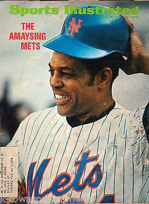 WILLIE MAYS THE AMAYSING METS VINTAGE SPORTS ILLUSTRATED MAGAZINE MAY 1972