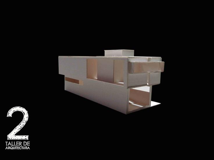 William_Monroy_maqueta_Proyecto_final_ejercicio_academico_facultad_de_arquitectura_Taller_2_Universidad_Piloto_de_Colombia_semestre_I_2012_