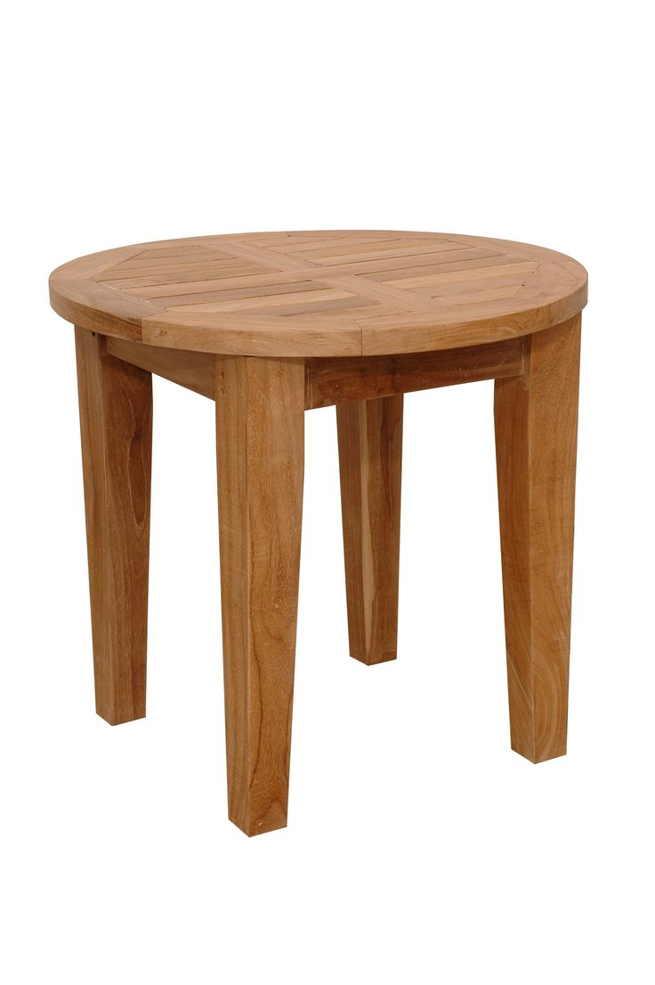 """Anderson Teak TB-106 Outdoor Brianna 20"""" Side Table"""