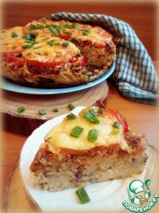 "Запеканка ""Спагетти-пицца"" - кулинарный рецепт"