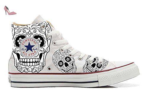 Make Your Shoes Converse Customized Adulte - chaussures coutume (produit artisanal) automne - size EU 33 vbxb1R