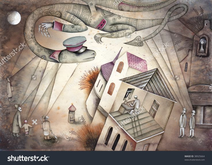 Dragon As Alegoria Of Soviet Secret Political Police by Eugene Ivanov. #eugeneivanov #gulag #genocide #solzhenitsyn #camps #russian #archipelago #prison #soviet #russia #war #freedom #stalin #putin #lenin #human_rights #gulag_archipelago #@eugene_1_ivanov