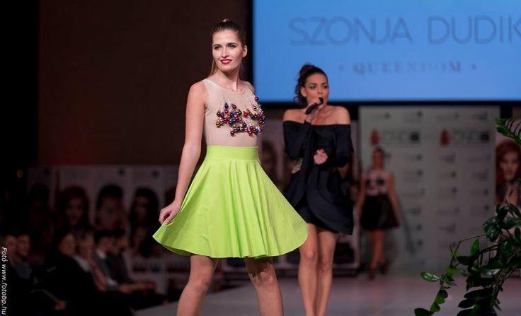 SZONJA DUDIK fashion show in MOSZI 2016 Dream December collection