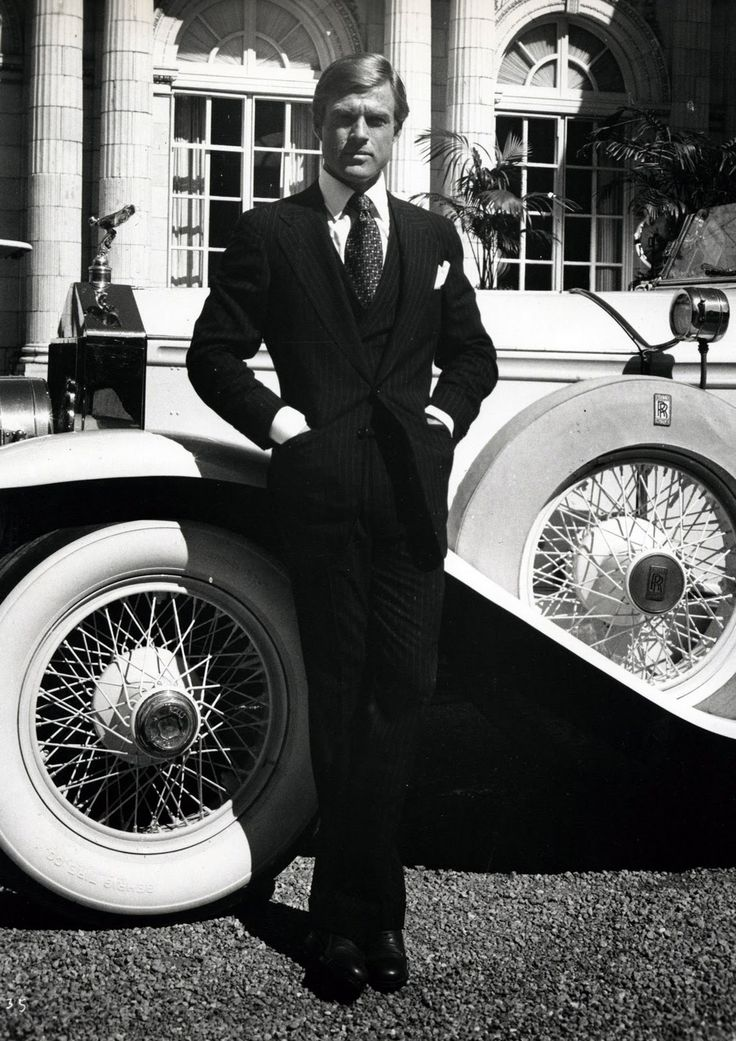 Robert Redford As Jay Gatsby 1974 The Great Gatsby