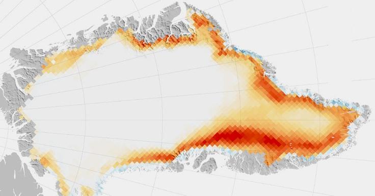Infographic: Greenland Melting