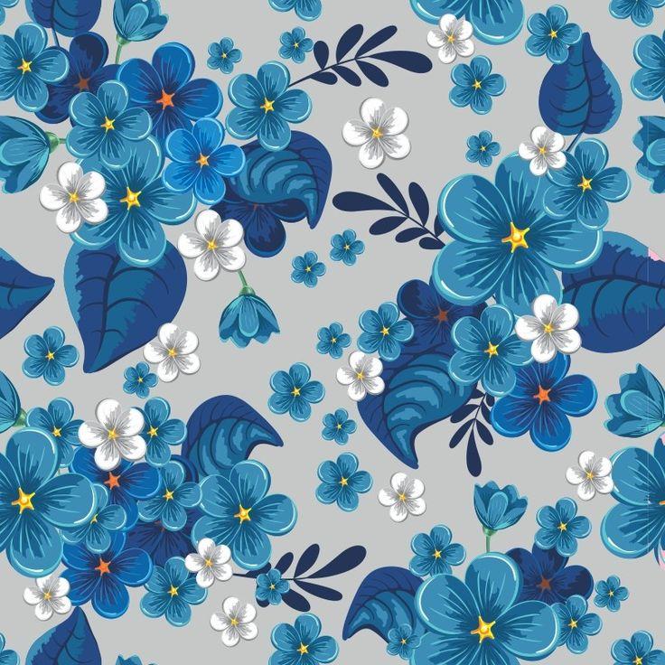 Papel de Parede Floral 49