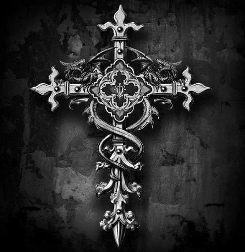 a gothic cross - Google Search