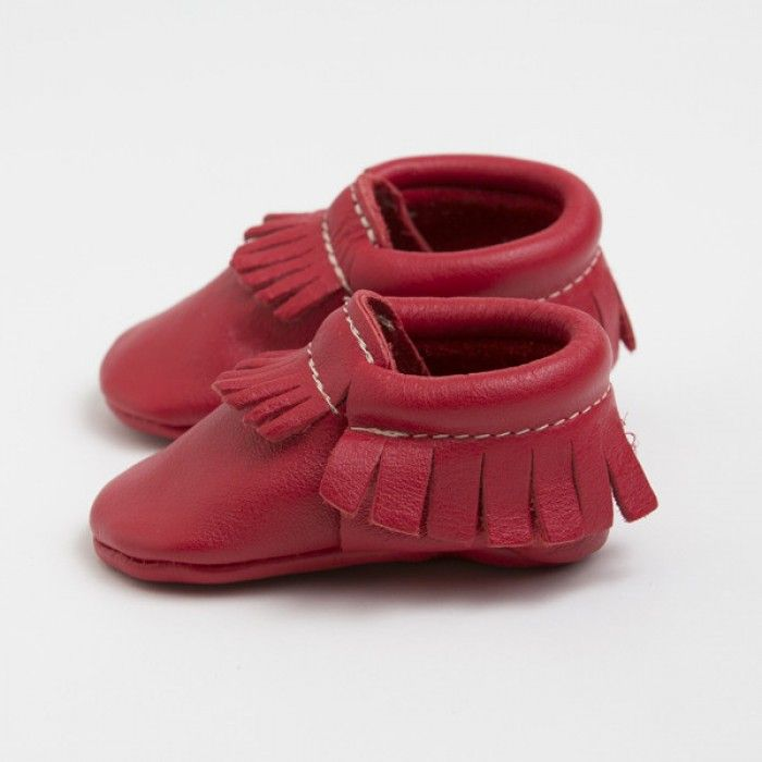 Freshly Picked Moccasins - Cherry - Side