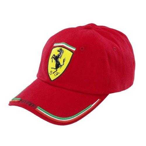 Ferrari Hat - I need this!