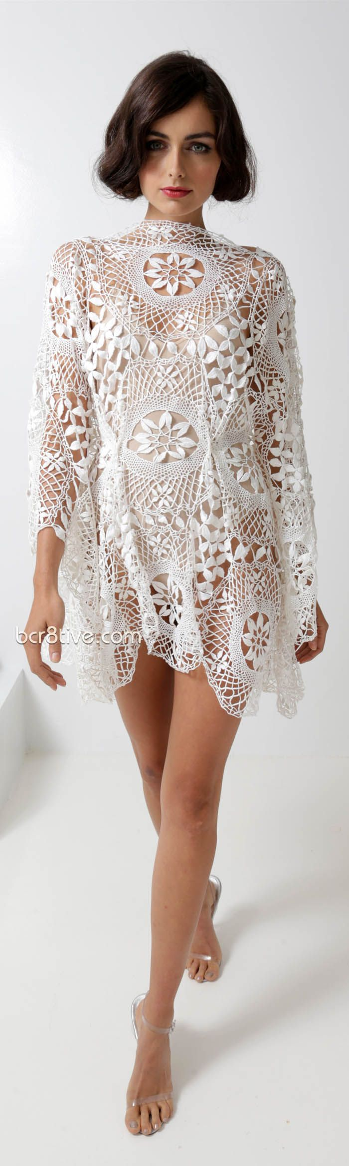 Norma Kamali Spring Summer 2013 Ready To Wear Collection. No pattern but it doesn't look too hard to figure out.