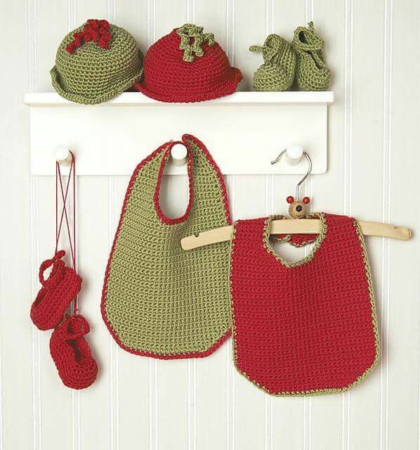 Mejores 58 imágenes de crochet-bebé - babetes e porta-chuchas en ...