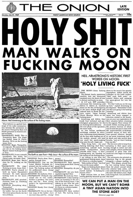 July 21, 1969   The Onion - America's Finest News Source