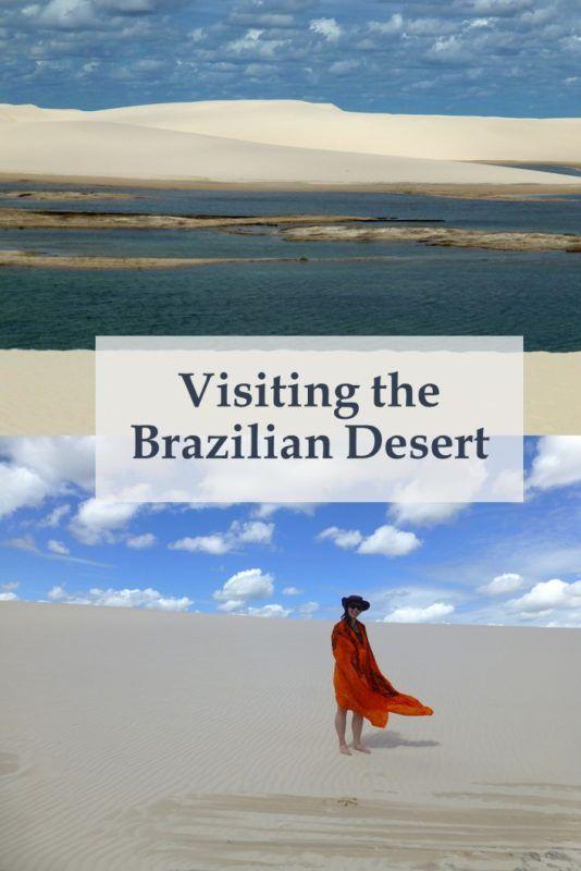 Sand dunes in Brazil: Atins, Lençois Maranhenses National Park