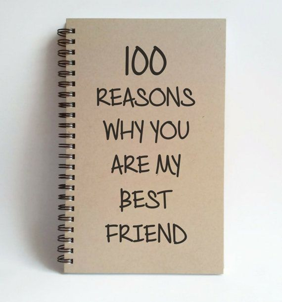 Check out this item in my Etsy shop https://www.etsy.com/listing/228250027/100-reasons-why-you-are-my-best-friend