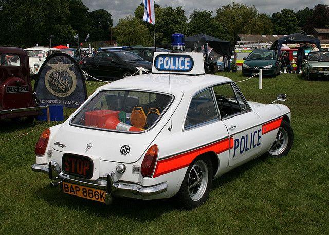 1971 MGB GT Police Car
