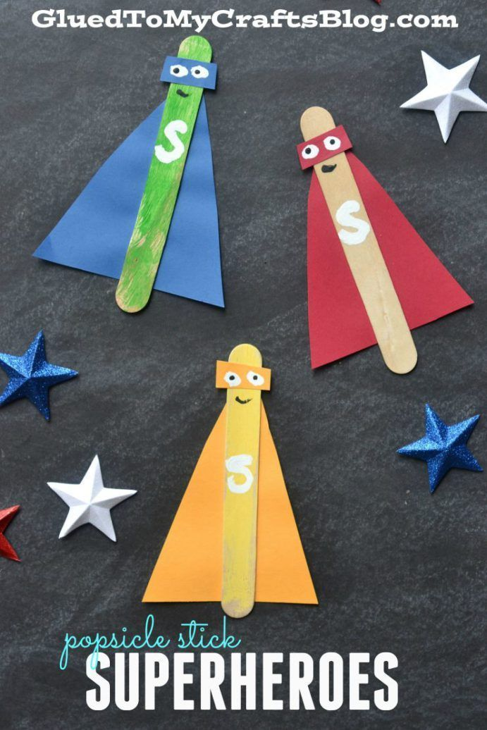 Popsicle Stick Craft Ideas for Summer Camp