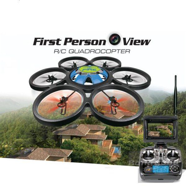 Preorder-WLtoys V323-FPV 2.4G 4CH RC Hexacopter With FPV Monitor RTF