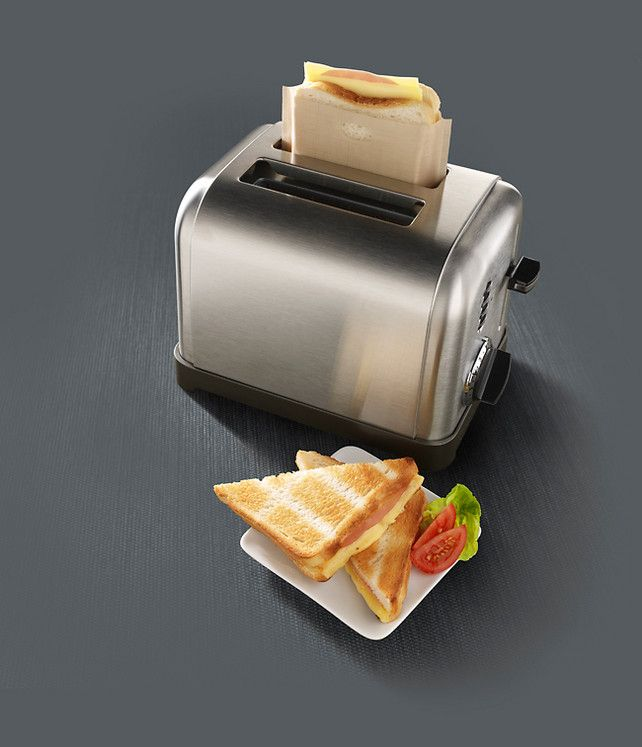 Toastabags: A Mess-Proof Way To Make Grilled Cheese In Your Toaster