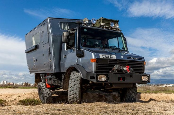 For Sale: Mercedes Unimog Expedition Camper U1300L aka Mowgli Mowgli will be at the Adventure Overland Show in Stratford-Upon-Avon, UK between 23rd and 25th September for anyone interested in buying her to take a look. £35000 Loads more info here: http://mowgli-adventures.com/meet-our-unimog-camper-named-mowgli/