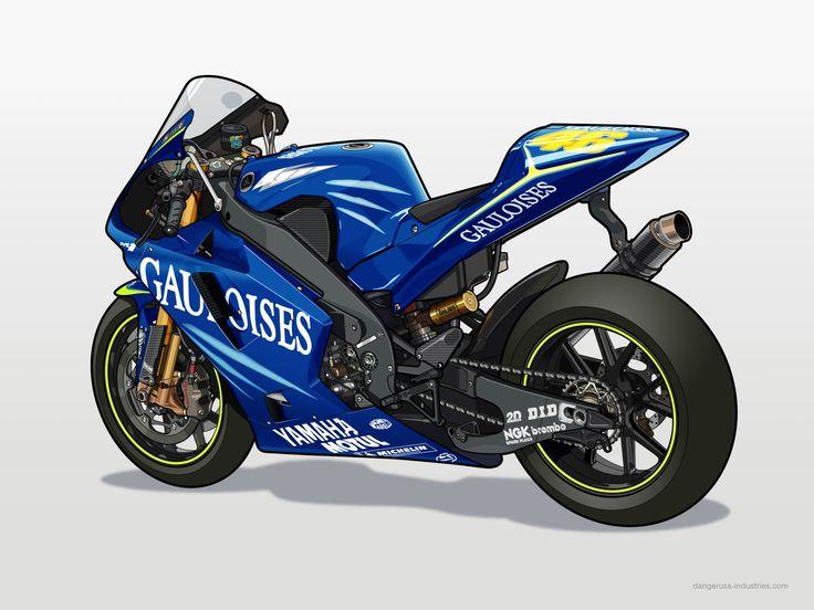 Yamaha M-1 2004 - Vector by dangeruss.deviantart.com on @DeviantArt