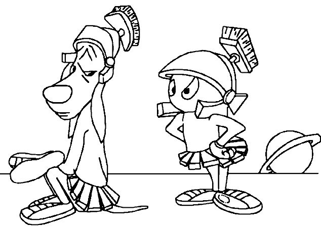 marvin k mooney coloring pages - photo#5