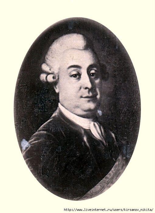 князь Трубецкой  Пётр  Сергеевич  (1760 - 1817)