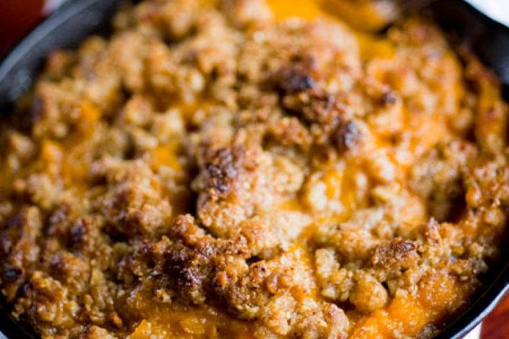 Del Frisco's Double Eagle Steakhouse's Bourbon Sweet Potato Casserole Recipe by Marc Murphy - The Daily Meal