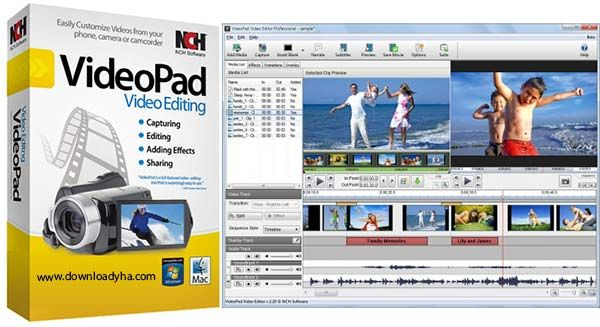 NCH VideoPad Video Editor Professional Crack Latest - http://freecracksoftwares.com/nch-videopad-video-editor-professional-crack/
