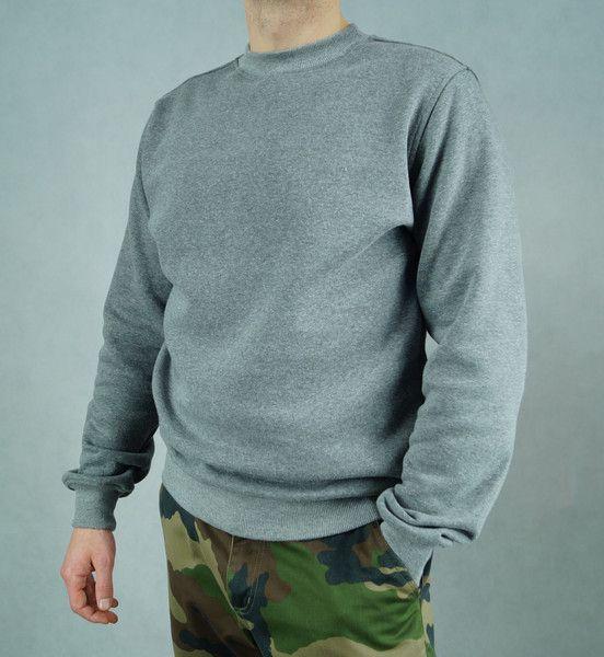 Bluza Grey Jumper - lilyoodziez - Bluzy męskie