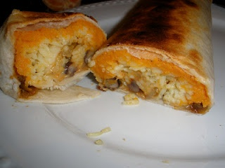 Sweet Potato Burrito Smothered In Avocado Salsa Verde Recipes ...